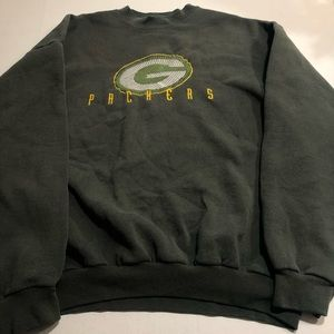 Green Bay Packers NFL Vintage Mens Sweatshirt XL